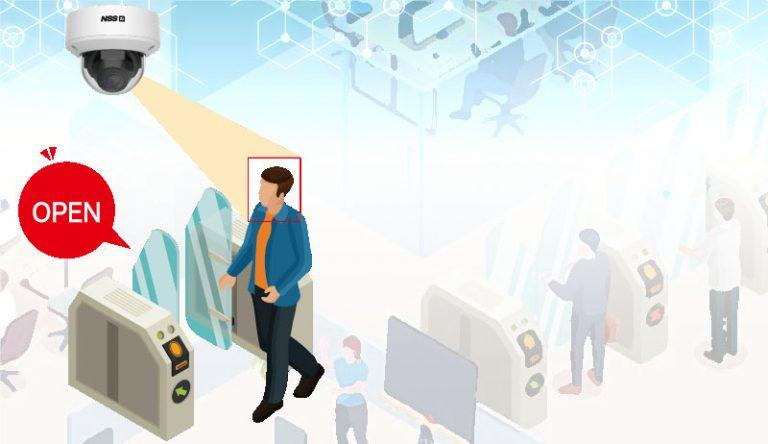 AI顔認証・人検知システム